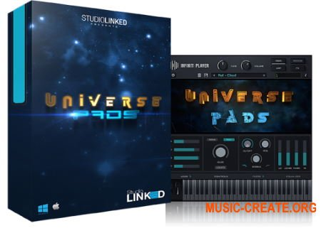 StudioLinked Infiniti Expansion Universe Pads Library WIN (DECiBEL) - библиотека падов