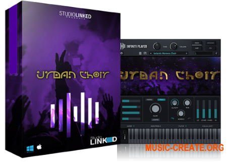 StudioLinked Infiniti Expansion Urban Choir Library WIN (DECiBEL) - библиотека хорового звука