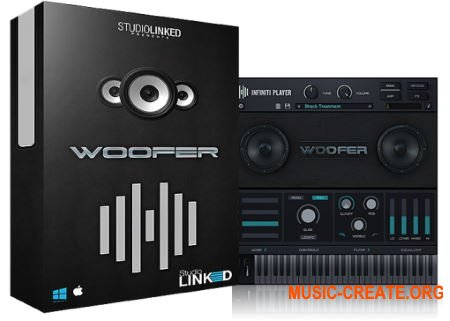 StudioLinked Infiniti Expansion Woofer Library WIN (DECiBEL) - библиотека драм звуков