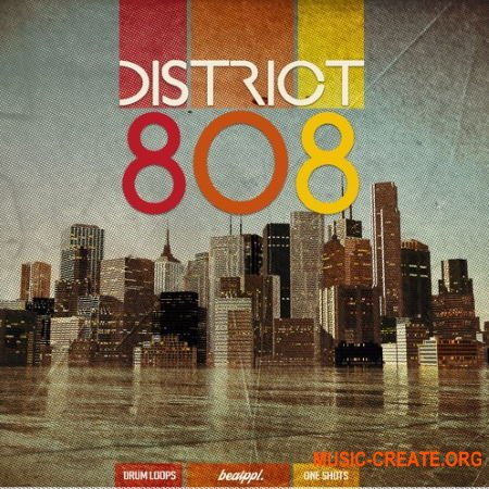 BeatPPL District 808 (WAV) - драм сэмплы