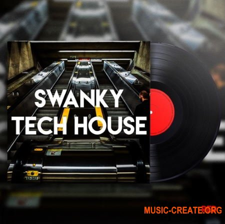 Engineering Samples Swanky Tech House (WAV) - сэмплы Tech House
