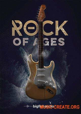 Big Fish Audio Rock Of Ages (KONTAKT) - библиотека электрогитары