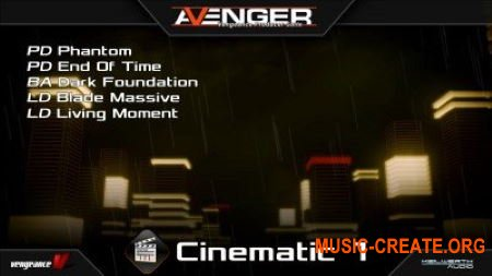 Vengeance Sound Avenger Expansion pack Cinematic 1 (UNLOCKED)