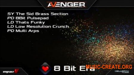 Vengeance Sound Avenger Expansion pack 8 Bit Era (UNLOCKED)