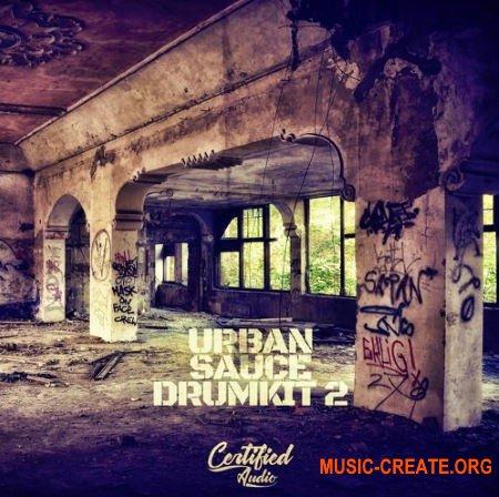 Certified Audio LLC Urban Sauce Drumkit 2 (WAV) - сэмплы ударных, Trap
