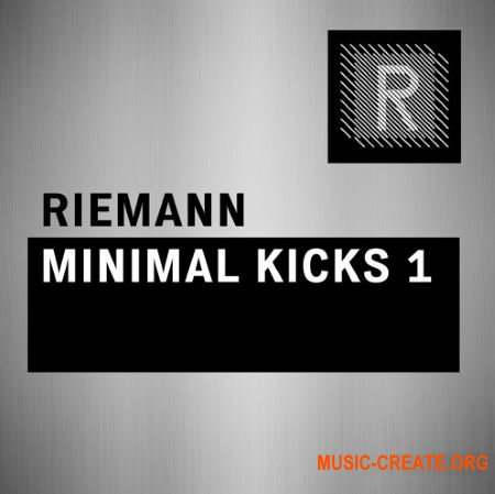 Riemann Kollektion Riemann Minimal Kicks 1 (WAV) - сэмплы ударных