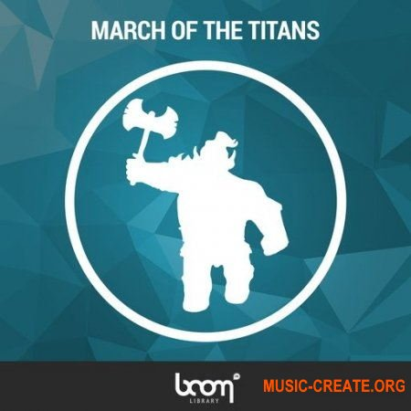BOOM Library March of the Titans (WAV) - звуковые эффекты