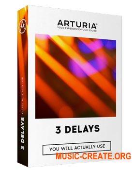 Arturia 3 Delays v1.0.0 (Team R2R) - плагин дилэй