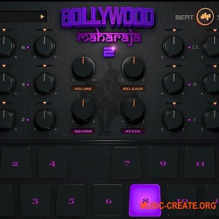 BeatSkillz Bollywood Maharaja v2.0 WiN OSX RETAiL (SYNTHiC4TE) - виртуальный ударный инструмент