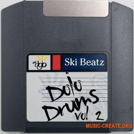 Ski Beatz - Ski Beatz - Dojo Drums Vol. 2 (WAV) - сэмплы ударных, Hip Hop