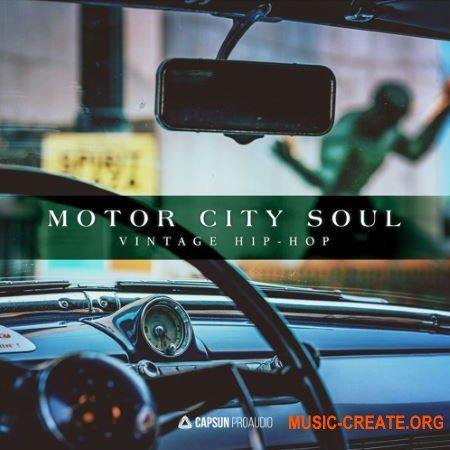 Capsun ProAudio Motor City Soul Vintage Hip-Hop (WAV) - сэмплы Hip Hop