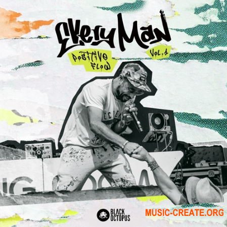 Black Octopus Sound Positive Flow Vol 1 by EVeryman (WAV) - сэмплы Funky Hip Hop