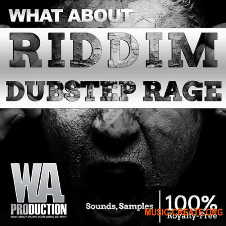 W.A. Production Riddim Dubstep Rage (WAV MIDI FXP ALP) - сэмплы Dubstep