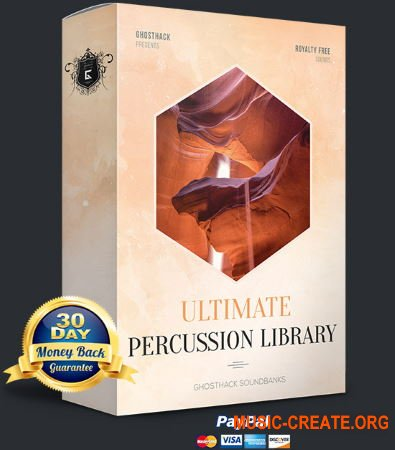 Ghosthack Ultimate Percussion Library (WAV) - сэмплы перкуссии
