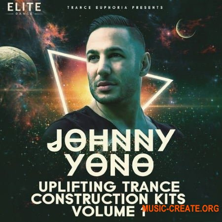 Trance Euphoria Johnny Yono Uplifting Trance Construction Kits Vol 1 (WAV MIDI Spire) - сэмплы Trance
