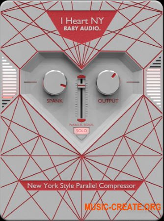 BABY Audio I Heart NY Parallel Compressor v1.0.0 WiN MAC RETAiL - плагин компрессии