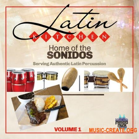 MarioSo Musik Latin Kitchen Vol 1 (WAV) - латинские звуки