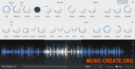Inertia Sound Systems Granulizer 2 v2.1.0 WiN OSX (Team R2R) - гранулированный синтезатор
