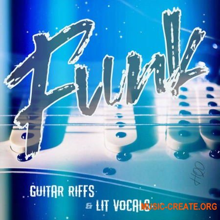 HQO FUNK GUITAR RIFFS and LIT VOCALS (WAV) - сэмплы гитары и вокала