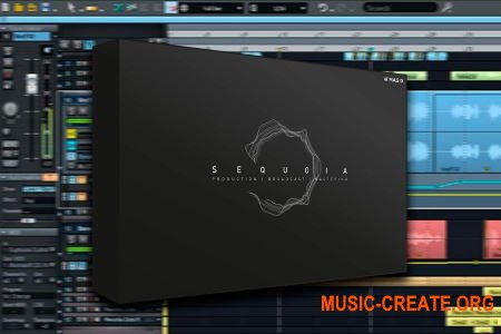 MAGIX - SEQUOIA v15 - аудио рабочая станция