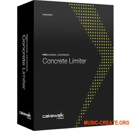 Cakewalk ProChannel Concrete Limiter v1.0.2 (Team R2R) - плагин лимитер