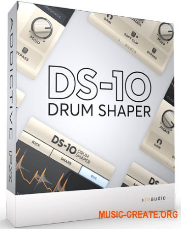 XLN Audio DS-10 Drum Shaper v1.0.5 WIN OSX (Team R2R) - плагин Transient Shaper