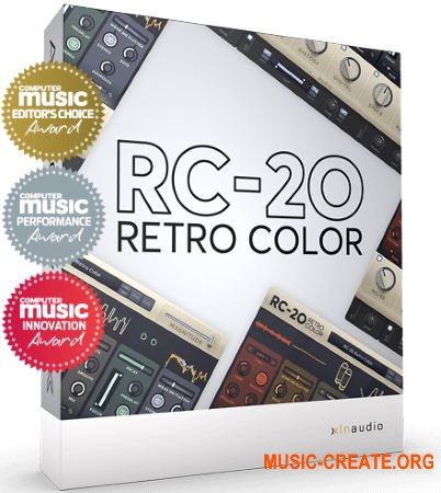XLN Audio RC-20 Retro Color v1.0.5 WIN OSX (Team R2R) - это плагин креативных эффектов
