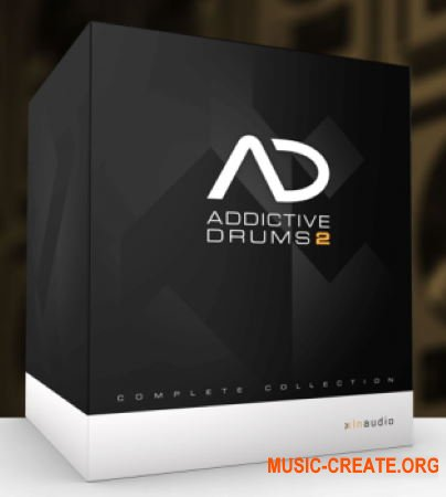 XLN Audio Addictive Drums 2 Complete v2.1.9 WIN OSX (Team R2R) - драм студия