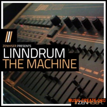 Zenhiser Linndrum - The Drum Machine (WAV) - драм сэмплы