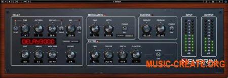 Nembrini Audio Delay3000 v1.0.2 (Team R2R) - эффект дилэй
