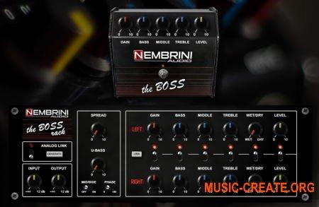 Nembrini Audio The Boss Bundle v1.0.1 (Team R2R) - гитарный усилитель