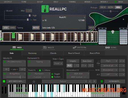 MusicLab RealLPC v5.0.0.7457 WiN OSX (Team R2R) - виртуальная гитара vst
