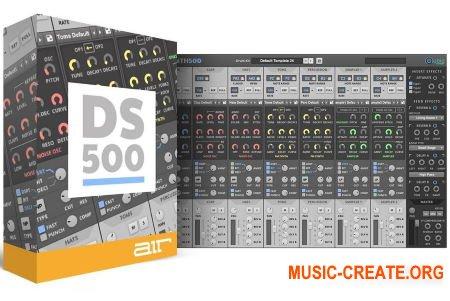 AIR Music Technology Drumsynth 500 v1.0.0 (Team R2R) - драм синтезатор