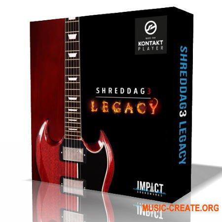 Impact Soundworks Shreddage 3 Legacy (KONTAKT) - библиотека электронной гитар