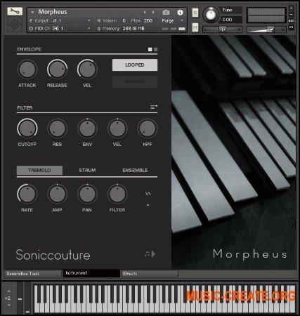Soniccouture Morpheus v2.0.0 (KONTAKT) - алюминиевый ударный инструмент