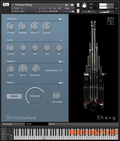Soniccouture Sheng Khaen Sho v1.0.0 (KONTAKT) - азиатские духовые инструменты