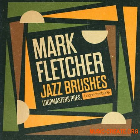 Loopmasters Mark Fletcher - Jazz Brushes (WAV REX) - сэмплы ударных