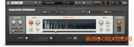 Native Instruments Mikro Prism v1.1.0.14 HYBRID (Team R2R) - синтезатор