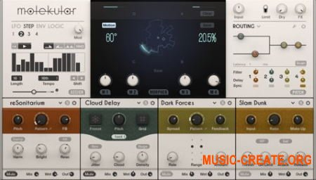 Native Instruments Molekular v1.0.0.3 HYBRID (Team R2R) - плагин эффектов
