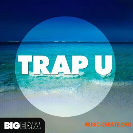 Big EDM Trap U (WAV Serum presets) - сэмплы Trap, Future Bass