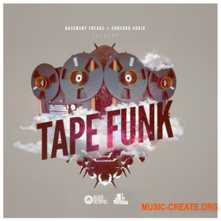 Black Octopus Sound Tape Funk by Basement Freaks (WAV) - сэмплы Funk
