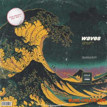 Origin Sound Waves (WAV) - сэмплы Trap, Hip Hop