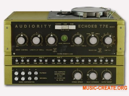 Audiority Echoes T7E MkII v2.0.0 WIN (Team R2R) - эхо-плагин