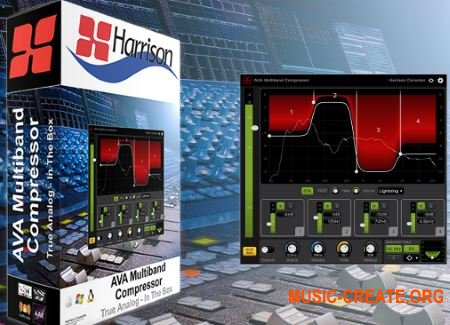 Harrison AVA Multiband Compressor v1.1.0 (Team R2R) - плагин компрессор