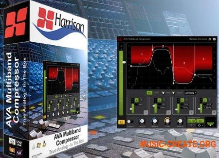 Harrison AVA Mastering Compressor v1.1.0 (Team R2R) - плагин компрессор