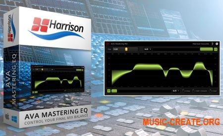 Harrison AVA Mastering EQ v2.0.1 (Team R2R) - плагин компрессии