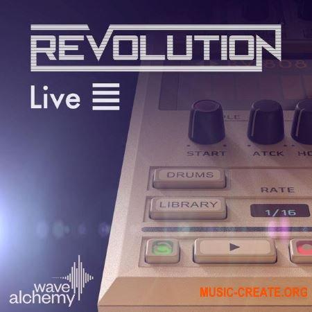 Wave Alchemy Revolution Live Pack for Ableton Live (DECiBEL)