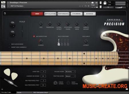 Impact Soundworks Shreddage 3 Precision (KONTAKT) - библиотека электрогитары
