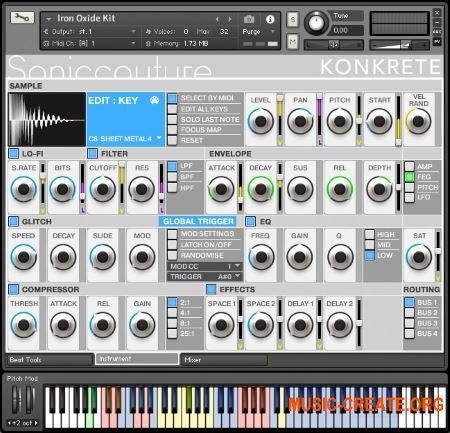Soniccouture Konkrete v1.1.0 (KONTAKT) - виртуальный инструмент