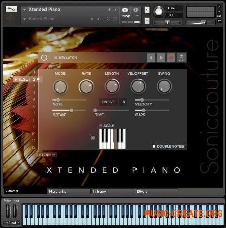 Soniccouture Extended Piano v1.1.0 (KONTAKT) - библиотека фортепиано